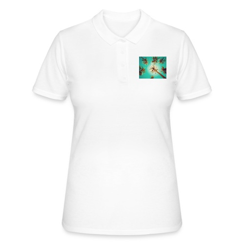 palm pinterest jpg - Women's Polo Shirt