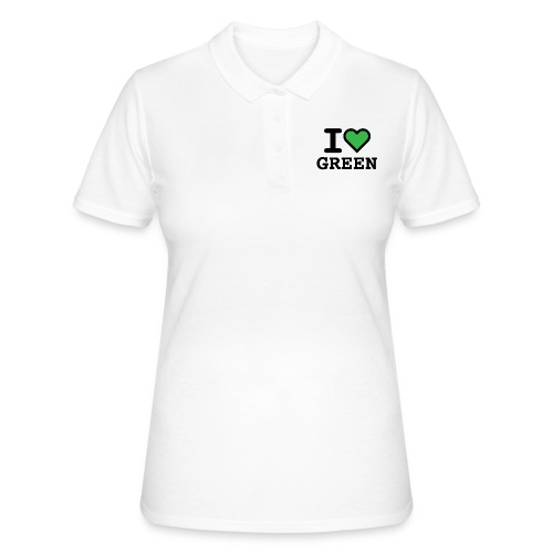 i-love-green-2.png - Polo donna