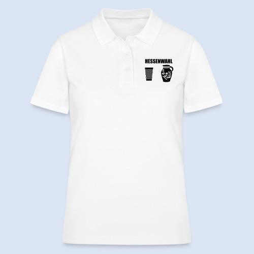 Hessenwahl Apfelwein - Frauen Polo Shirt