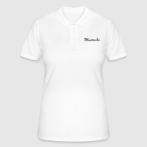 Black Lettering - Women's Polo Shirt