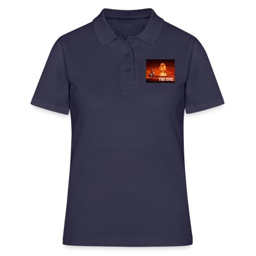 THE END (version 2 : pour toute couleur de fond) - Women's Polo Shirt