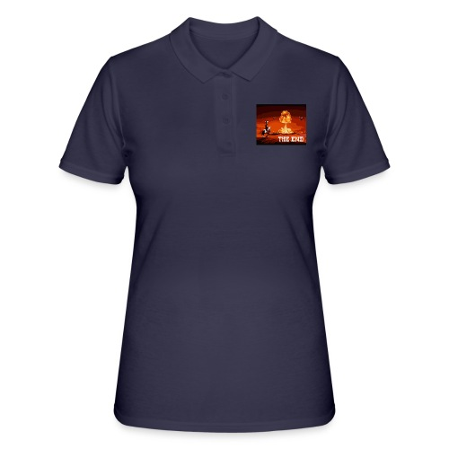 THE END (version 2 : pour toute couleur de fond) - Women's Polo Shirt