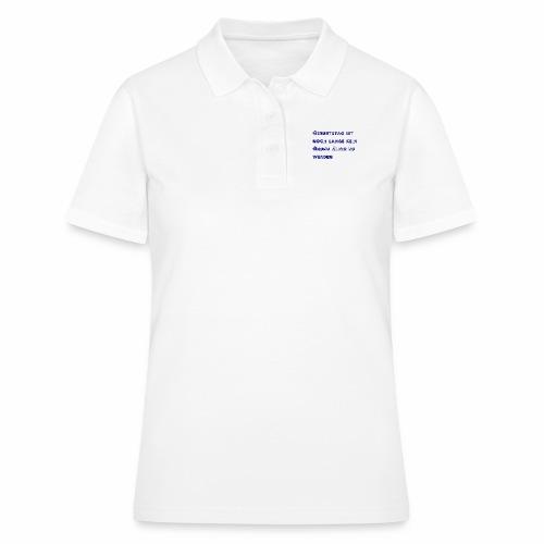 Geburtstag - Frauen Polo Shirt