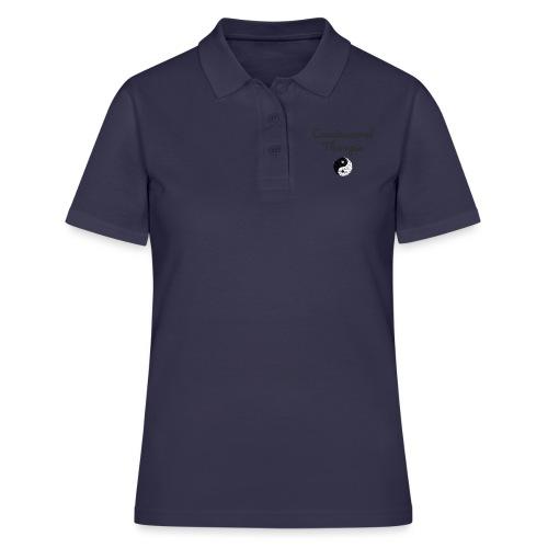 Craniosacral Therapie Shirt Yin Yang Geschenk - Frauen Polo Shirt