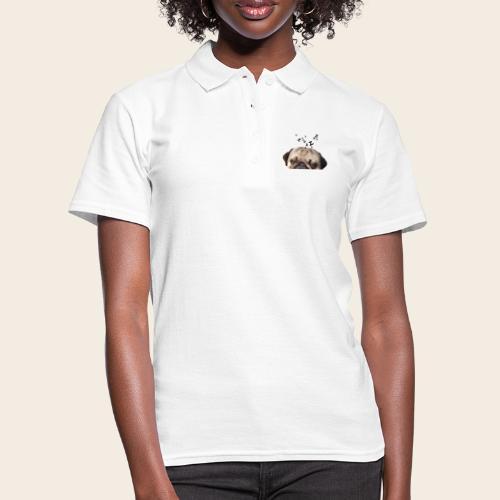 mops-schnarcht - Frauen Polo Shirt