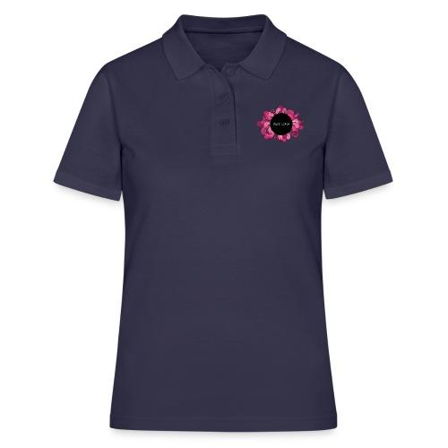 Naisten t-paita punaisella logolla - Women's Polo Shirt