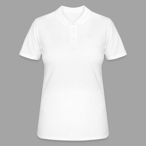 Recumbent bike white 2 - Women's Polo Shirt