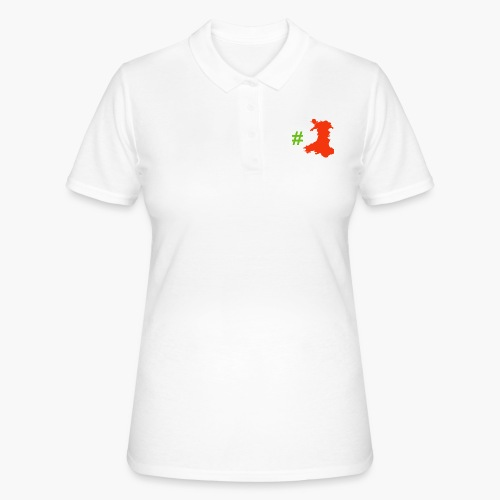 Hashtag Wales - Women's Polo Shirt