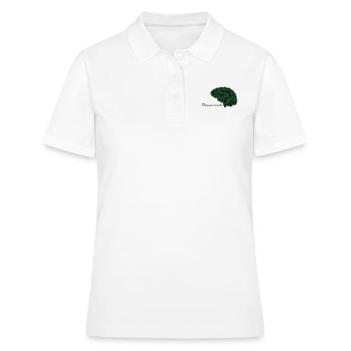 Piensa verde - Camiseta polo mujer