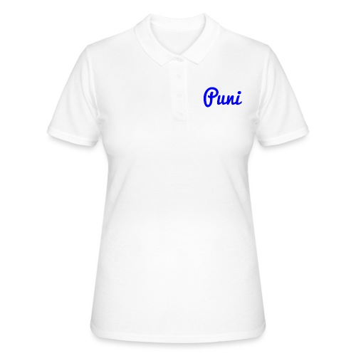 puni shirt Blauw - Women's Polo Shirt