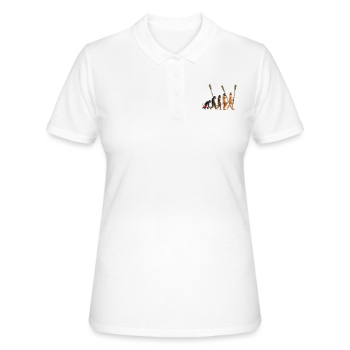 Evolution of Rowers - Women's Polo Shirt