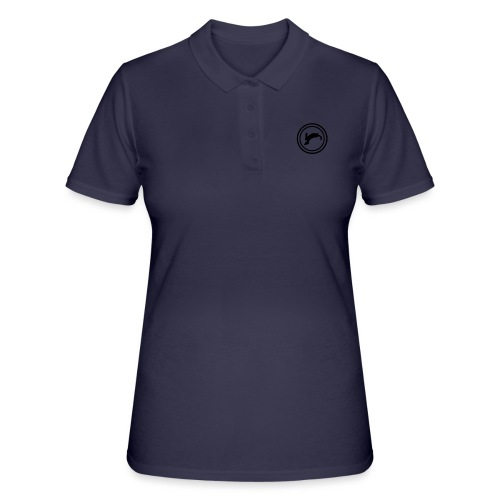 Bunny_Black2 - Women's Polo Shirt