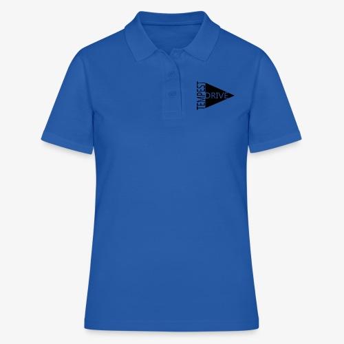Komprimeret logo - Poloshirt dame