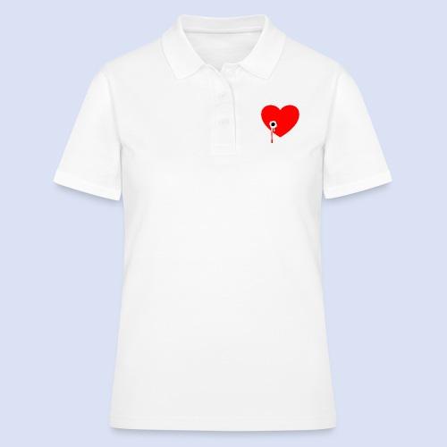 Cœur troué - Women's Polo Shirt