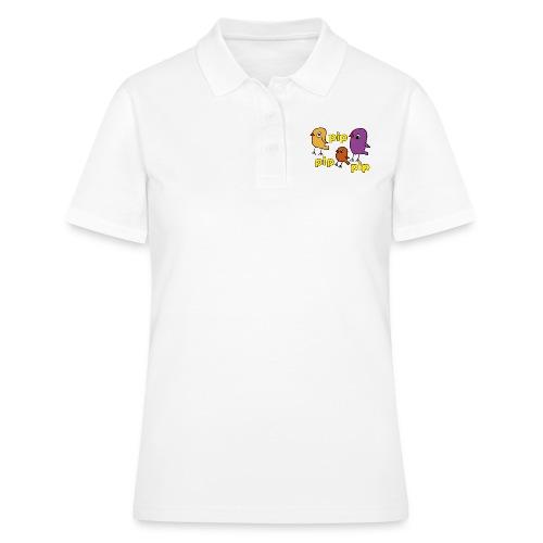pip pip 3er farbig gelb - Frauen Polo Shirt