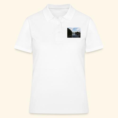 Lanschaftsmotiv mit Wasser - Frauen Polo Shirt