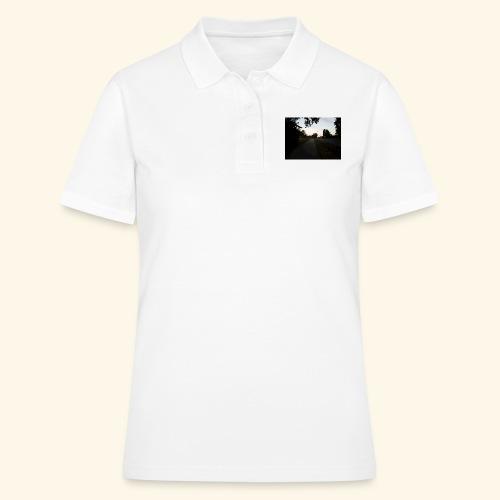 abendliche Landstraße - Frauen Polo Shirt