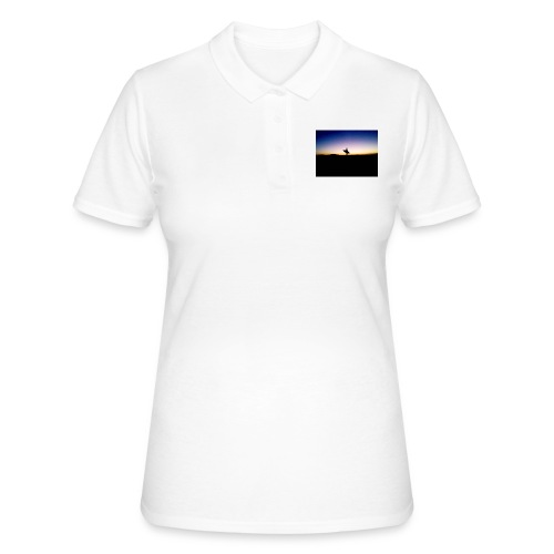 Surfer Sunset Silhouette - Women's Polo Shirt