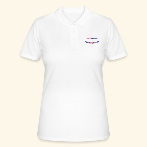 Love Mondays - Frauen Polo Shirt