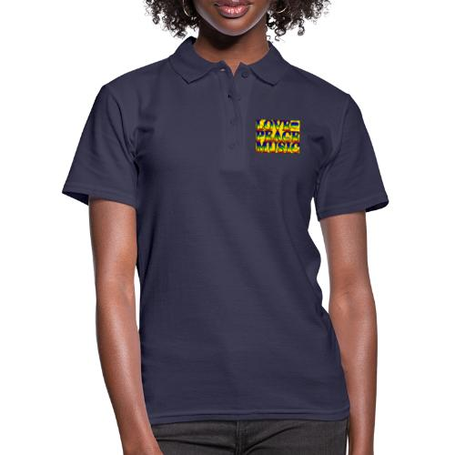 Love Peace and Music - Women's Polo Shirt