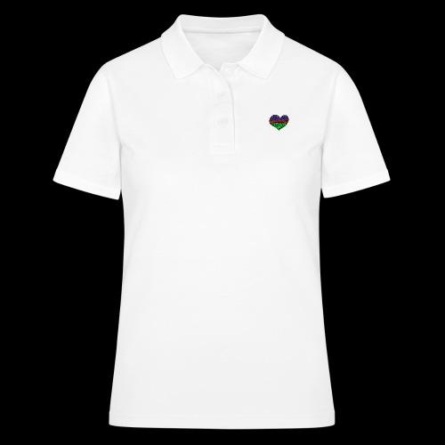 Herz Leben Welt Love you green - Frauen Polo Shirt