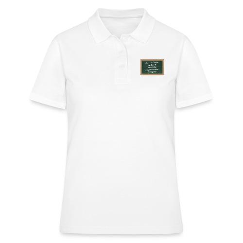 Apprendre - Women's Polo Shirt