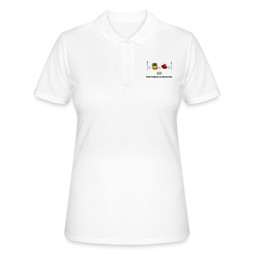 PINEAPPLE APPLE PEN - Women's Polo Shirt