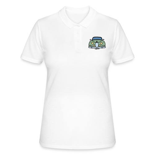 voiture mythique anglaise - Women's Polo Shirt