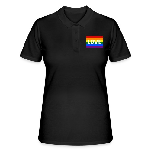 LOVE RETRO T-SHIRT - Women's Polo Shirt