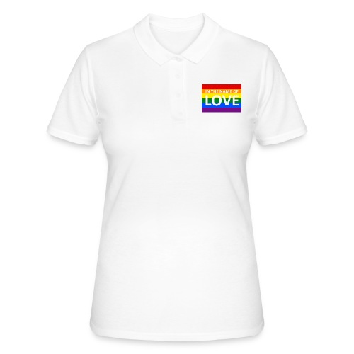 IN THE NAME OF LOVE RETRO T-SHIRT - Women's Polo Shirt