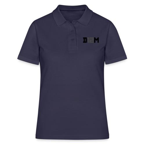 D12M: SHORT BLACK - Women's Polo Shirt