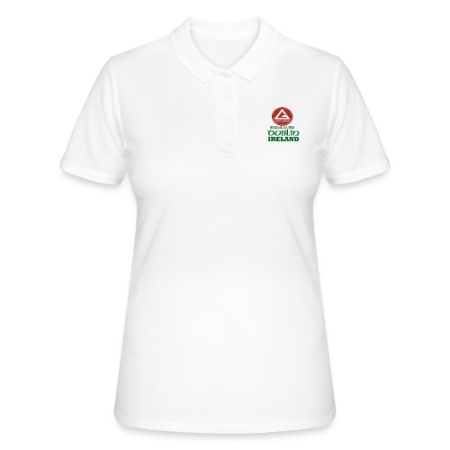 Gracie Barra Dublin Gaelic Celtic Font PNG - Women's Polo Shirt