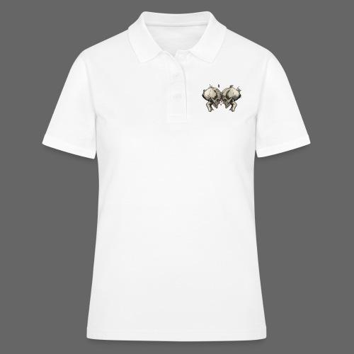 MHF_Logo_Loose-Skulls - Women's Polo Shirt