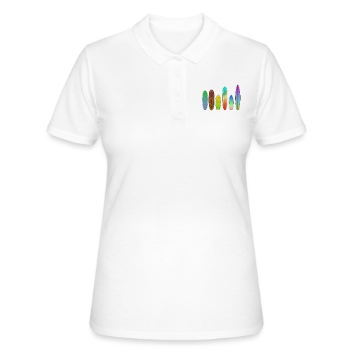 Surfboards - Frauen Polo Shirt