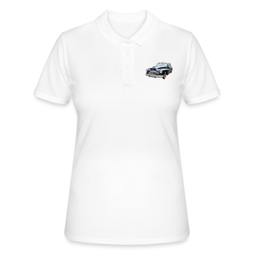 Classic Car. Buick zwart. - Women's Polo Shirt