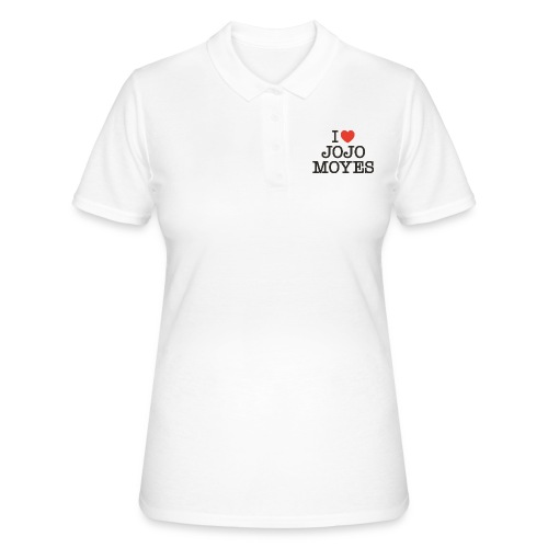 I LOVE JOJO MOYES - Women's Polo Shirt