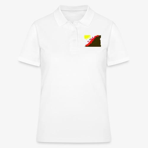 flowers - Poloshirt dame