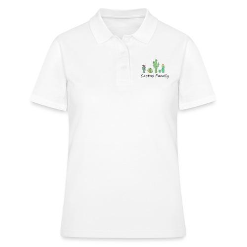 Cactus family - Frauen Polo Shirt