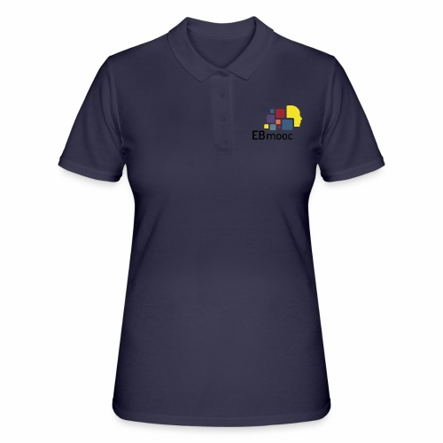 EBmooc Logo - Frauen Polo Shirt
