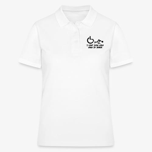 Ik kan ook niet lopen als ik nuchter ben - Women's Polo Shirt