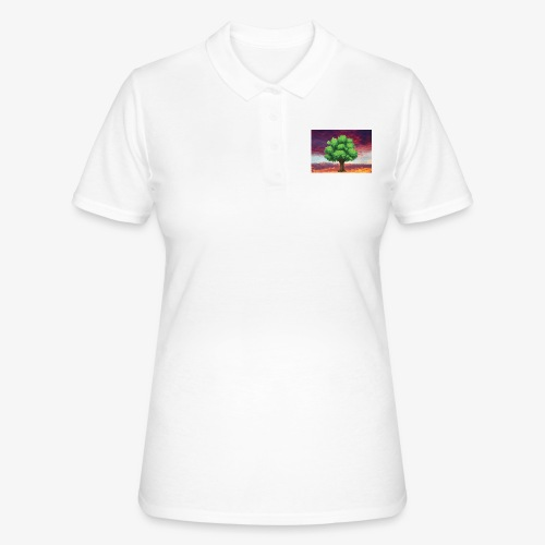 Tree in the Wasteland - Women's Polo Shirt