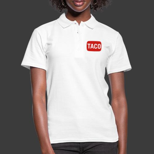 Taco Karsten Youtube Logo 2 - Women's Polo Shirt