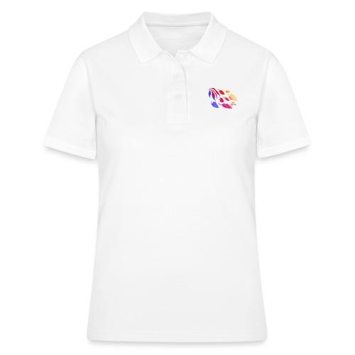 Natur Blätter Regenbogen - Frauen Polo Shirt