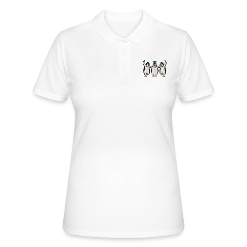 Penguin Trio - Women's Polo Shirt
