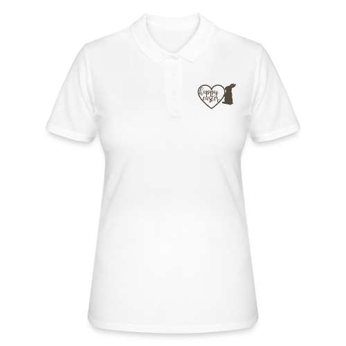 Happy Easter - Frauen Polo Shirt