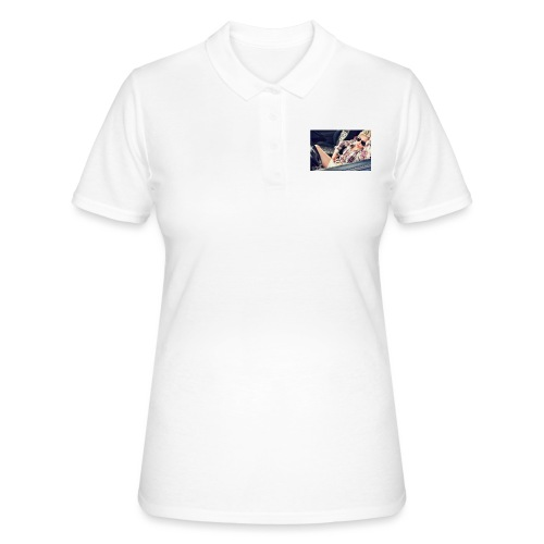 Cool woman in car - Women's Polo Shirt