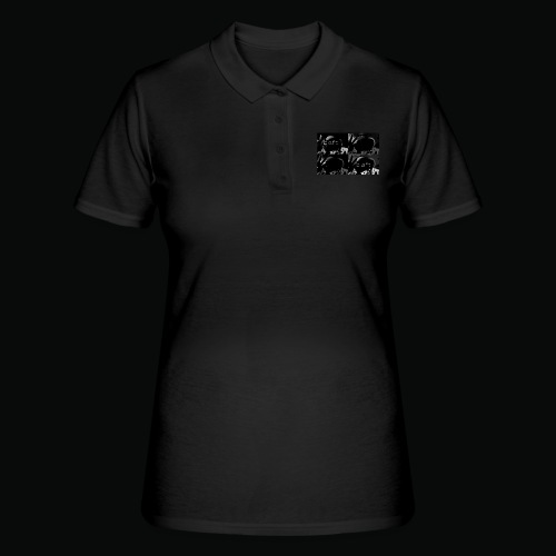 black bafti crew - Women's Polo Shirt