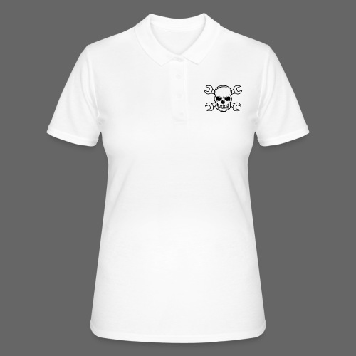 MEKKER SKULL - Women's Polo Shirt