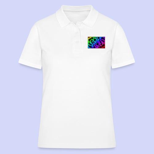 Rainbow doodle - Female shirt - Poloshirt dame