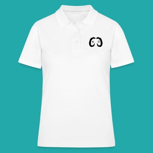 Crowd Control Controller Logo Black Large - Women's Polo Shirt